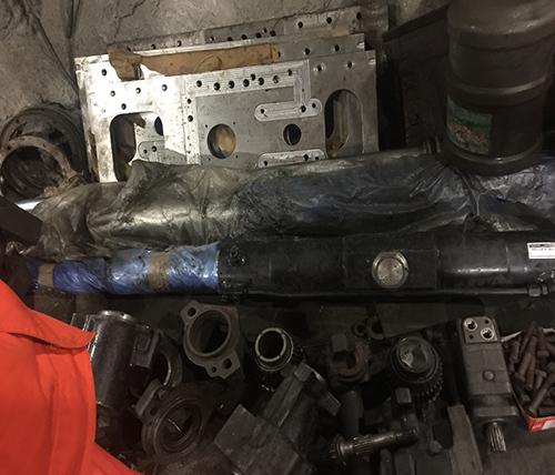 井下1000米液压油缸维修