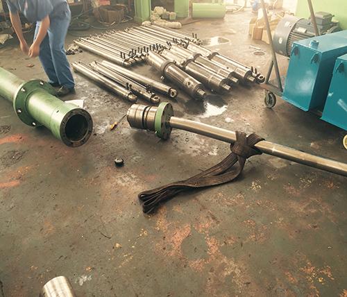 华能电厂液压油缸修复