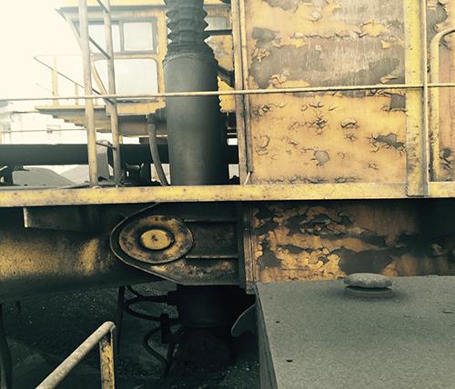 中国大唐马头电厂斗轮机油缸维修