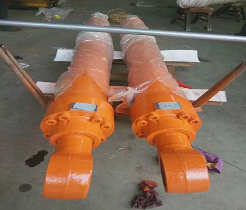 挖掘机液压缸修复