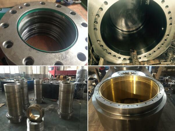 油压机主缸缸体维修