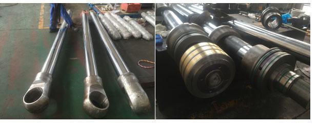 电厂液压油缸维修过程