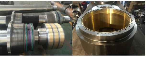 工程机械液压油缸维修