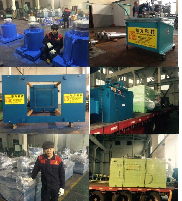 硫化机液压油缸维修发货